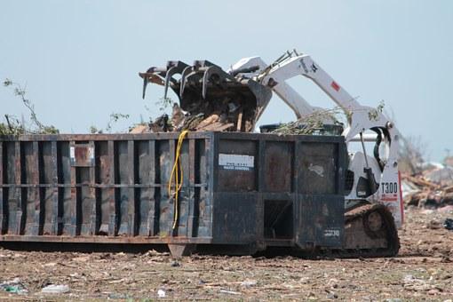 Dumpster Rentals Damage